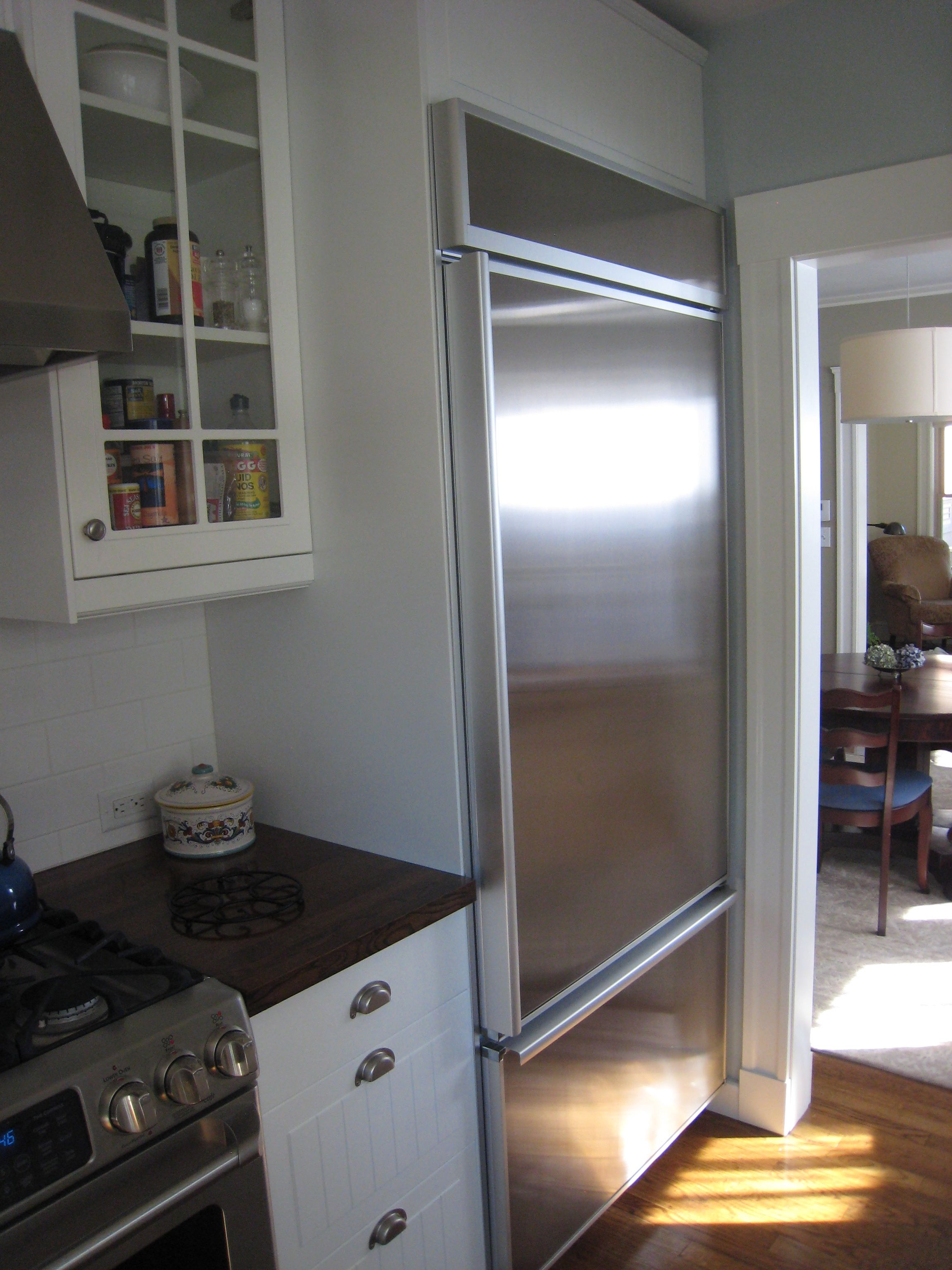 ... Kitchenaid Built In Refrigerator 42 Inch Panel Ready Refrigerator  Kitchen Traditional First Floor Condo Whitney Condos ...